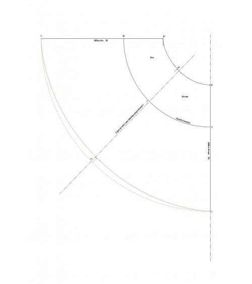 Jupe demi-cercle