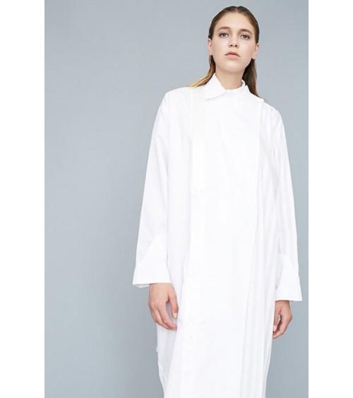 Le 602 - Long asymmetric shirt