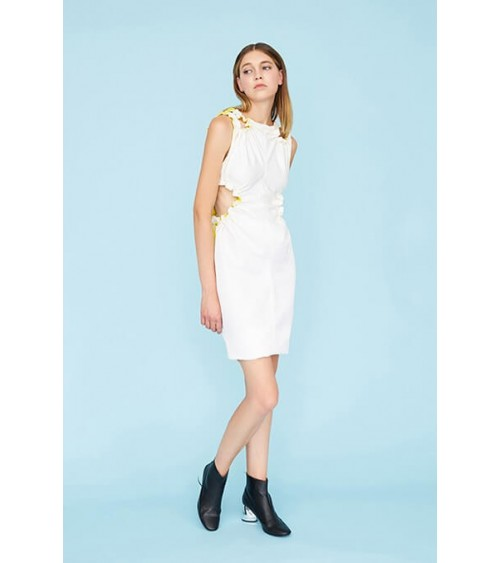 Le 903 - Elasticated and openwork dress
