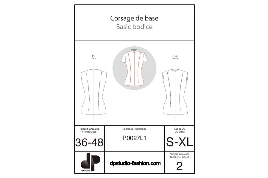 Bodice base pattern