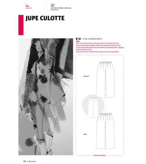 Jupe culotte Langue:Français