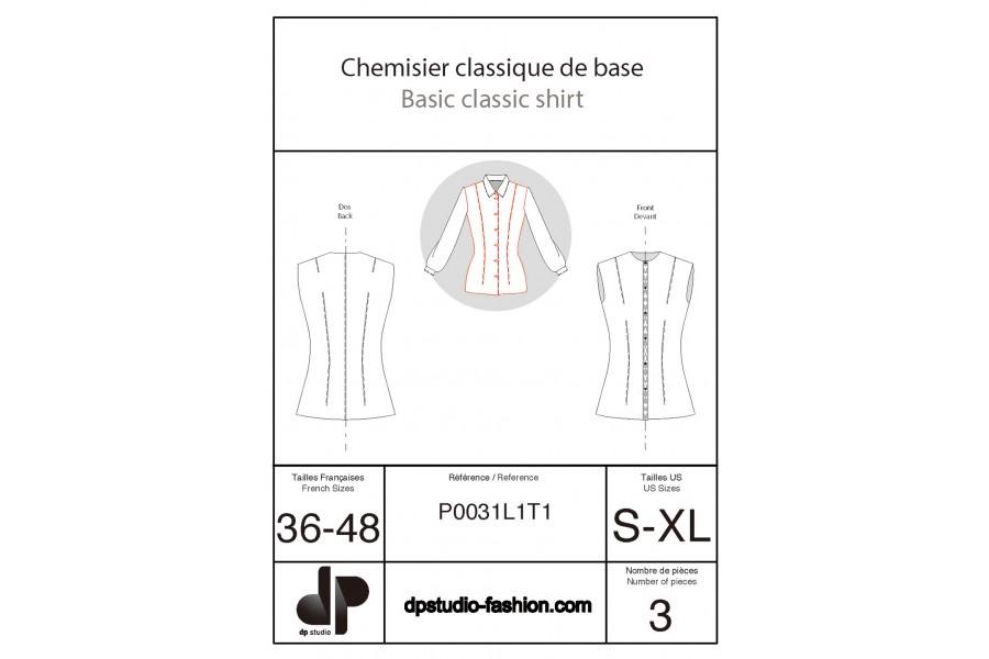 Chemisier classique de base