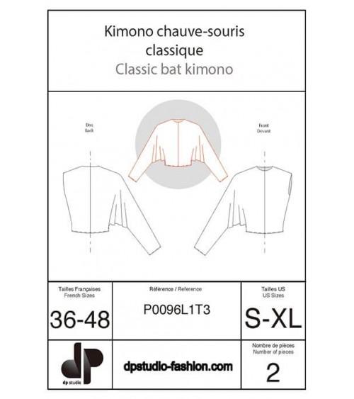 Kimono chauve-souris, classique
