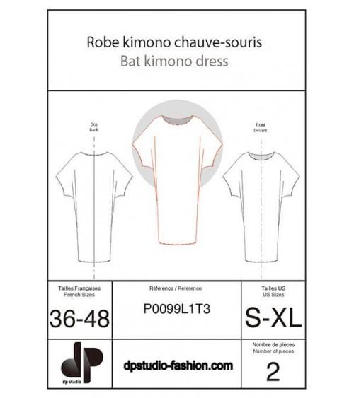 Robe kimono chauve-souris
