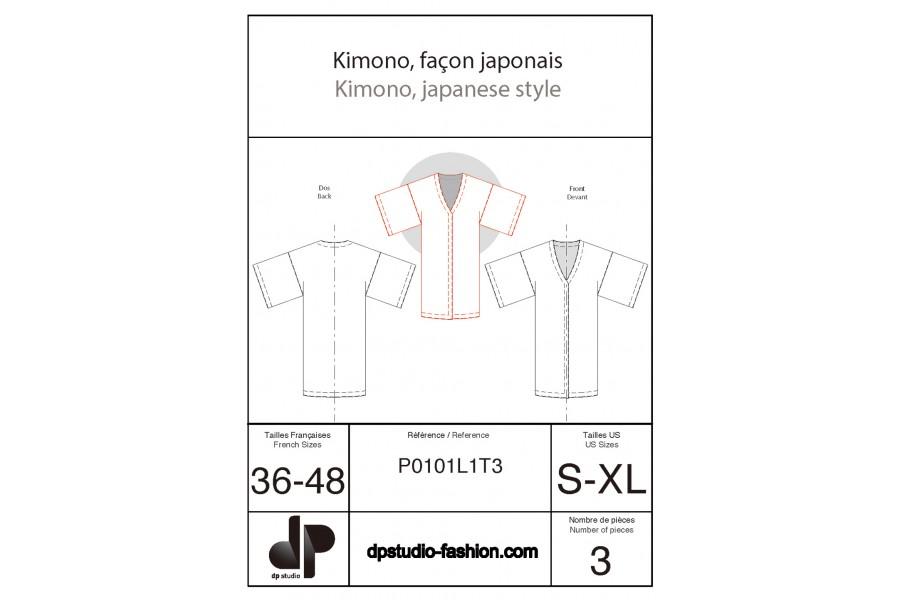 Kimono, façon japonais