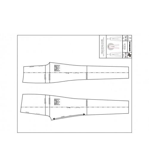 Caleçon de base, à la taille ( legging ou skinny )