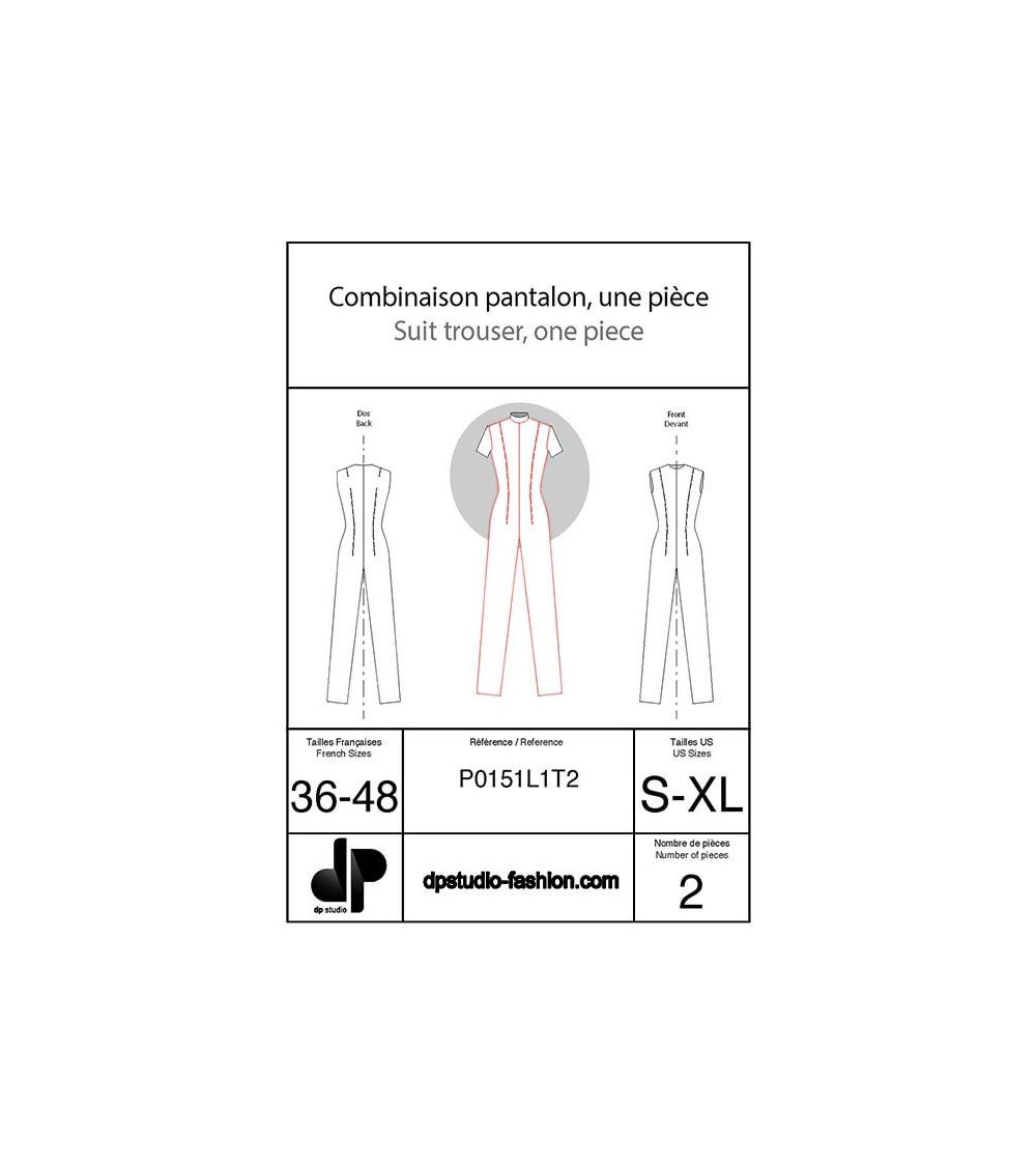 Combinaison pantalon, une pièce ( en stretch )