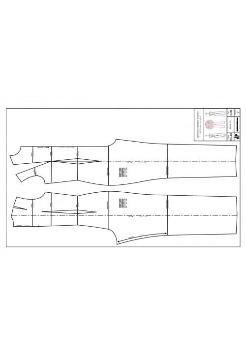 One-piece jumpsuit (stretch)