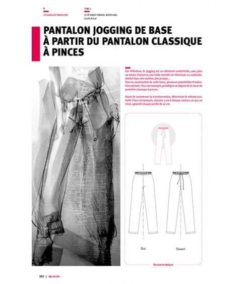 Pantalon jogging de base à partir du pantalon classique à pinces