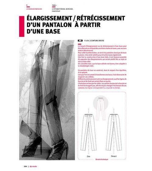 Elargissement/rétrécissement d'un pantalon à partir d'une base
