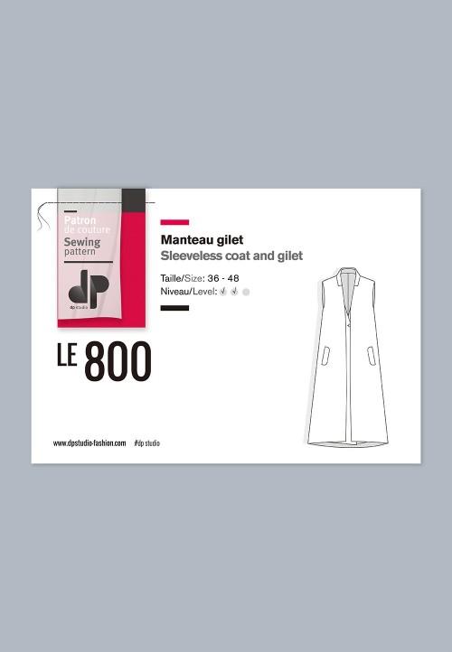 Le 800 Manteau gilet
