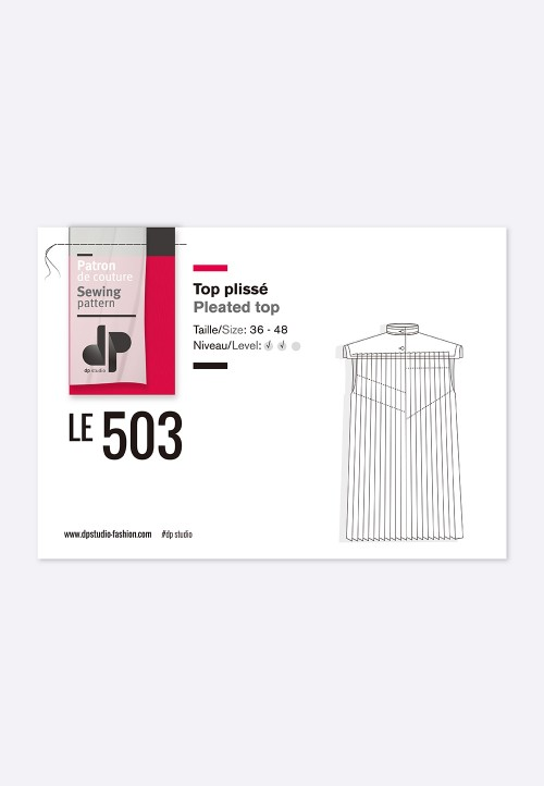 Le 503 Top plissé