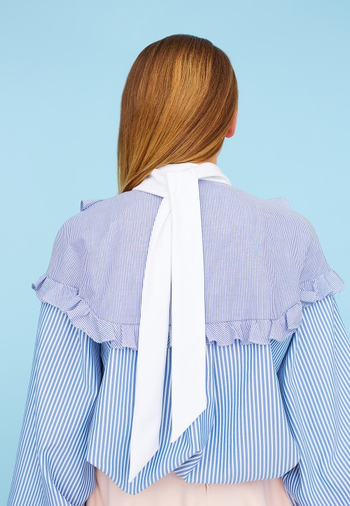 Le 601 - Frilled shirt