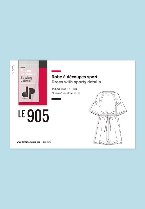 Le 905 - Robe à découpes sport