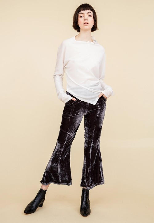 Flare and classic narrow trousers