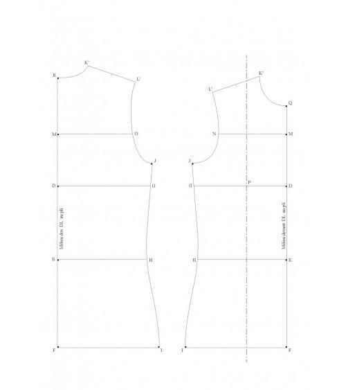 Base maille ou vêtement ample à partir de mesures