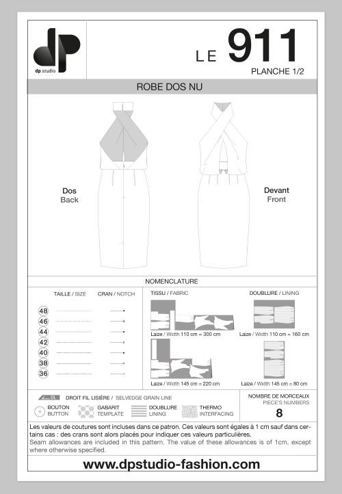 Le 911 - Backless dress