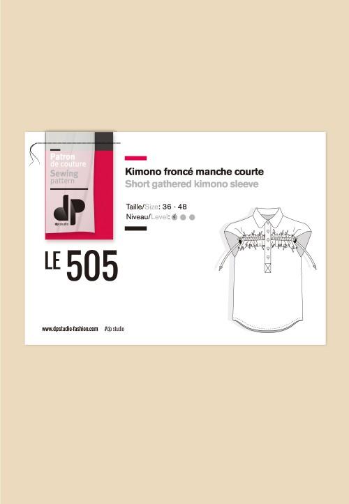 Le 505 - Kimono froncé, manche courte