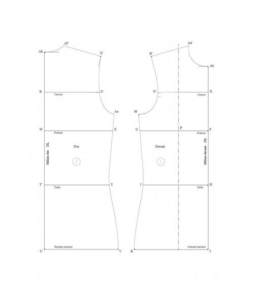 Base maille ou vêtement ample équilibré