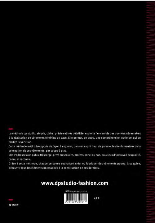 Le vêtement féminin, modélisme coupe à plat
