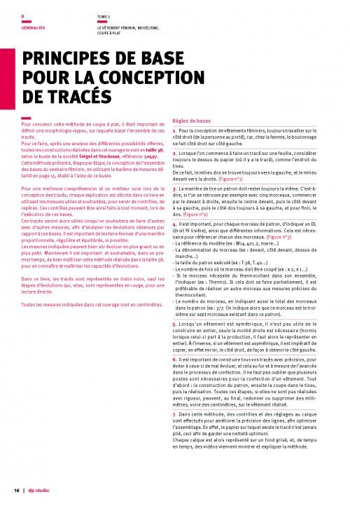 Volume 3 - Print medium in French language