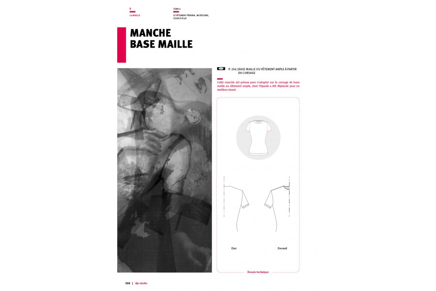 Manche base maille