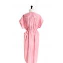 Tunique/robe manches basses et profond décolleté