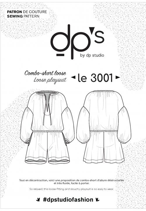 Le_3001_PDF_Loose playsuit/ Tunict