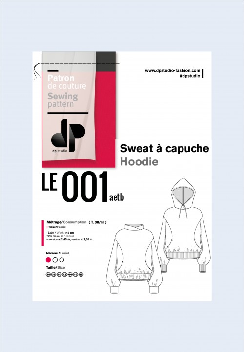 Le 001 Sweat à capuche