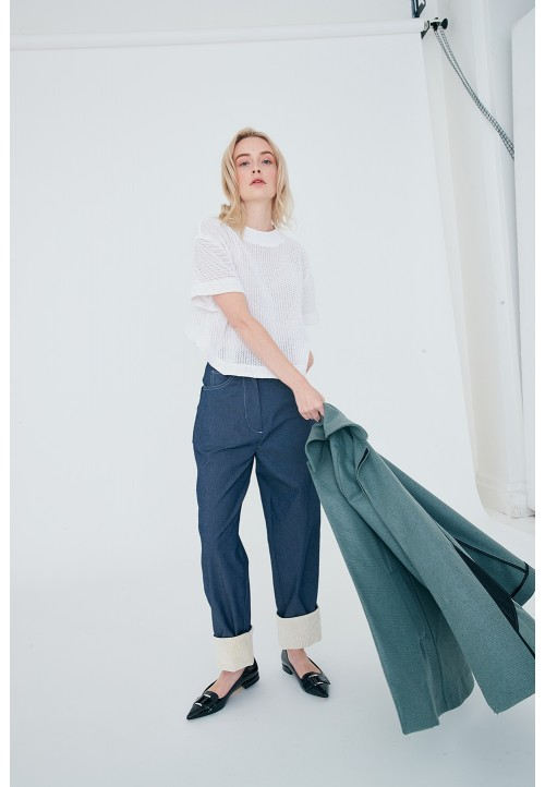 Le 309 « Boyish » loose trousers, worn on the waist