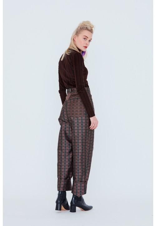 Le 309 Pantalon ample, à la taille «boy style»