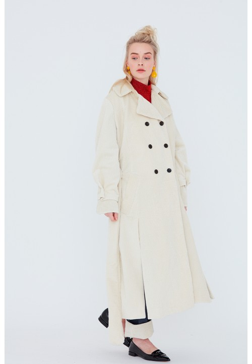 Le 700 Double-breasted coat/trench