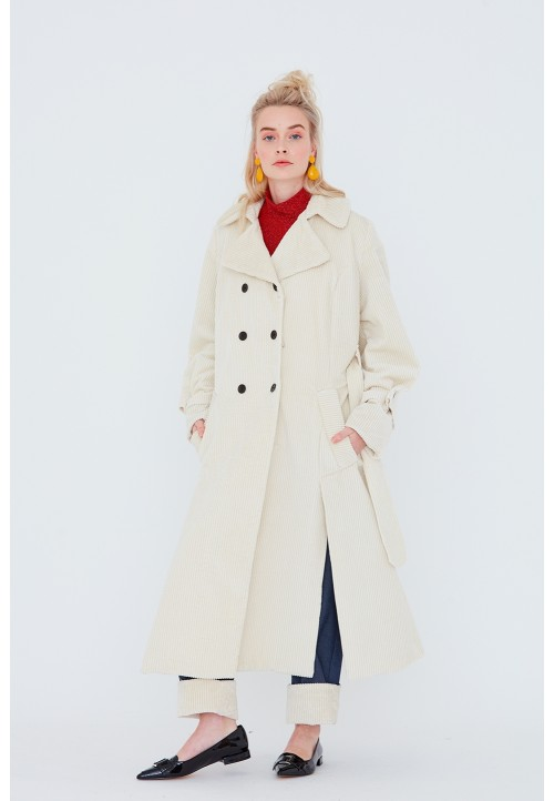 Le 700 Manteau/trench double boutonnage