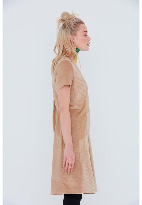 Le 901 Robe à découpes, ligne trapèze