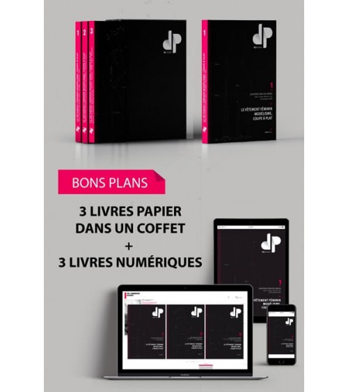Coffret Tome 1 - Tome 2 - Tome 3 - support papier