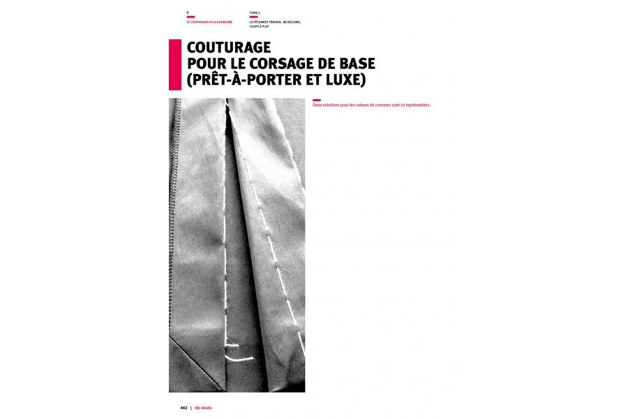 Couturage pour le corsage de base (prêt-à-porter et luxe)