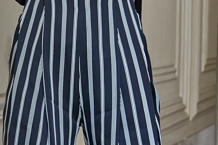Le 305 Jules Pantalon stripes