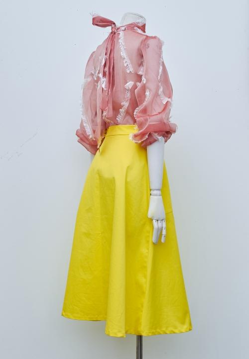 """Le 4002 """"Flared skirt denim style """""""