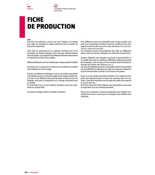 Fiche de production