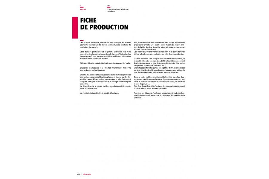 Fiche de production