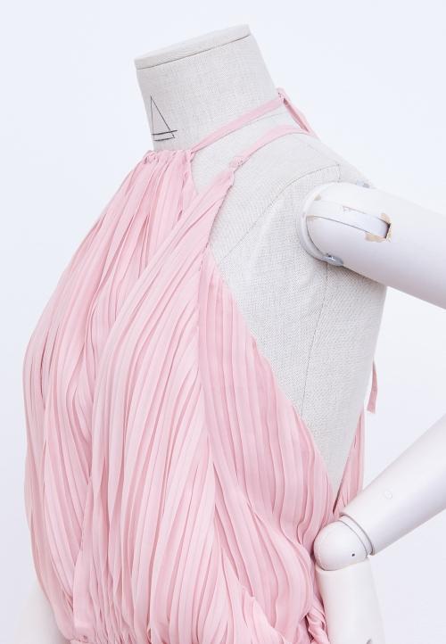 Le_9005 Robe à panneaux, coupée à la taille
