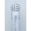 Short/Pantalon ceinturé, à plis