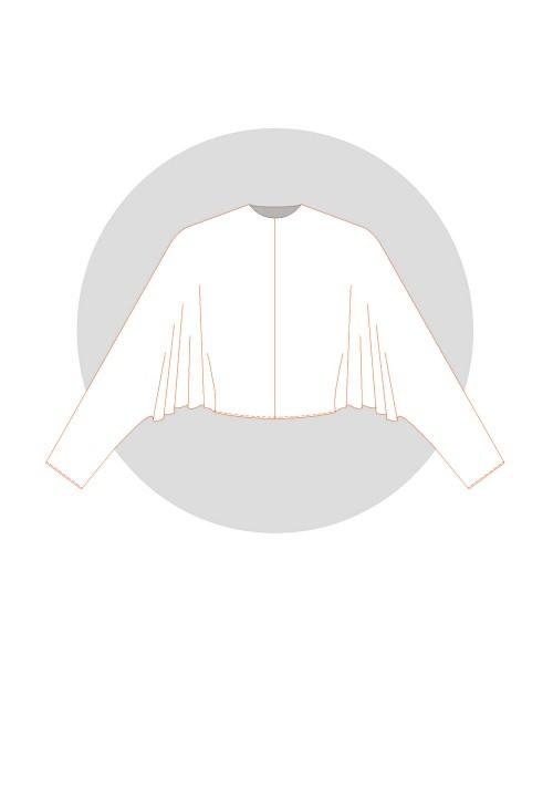 Kimono chauve-souris élargi