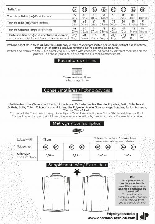 LE_5005_PDF Top à plis sans manches