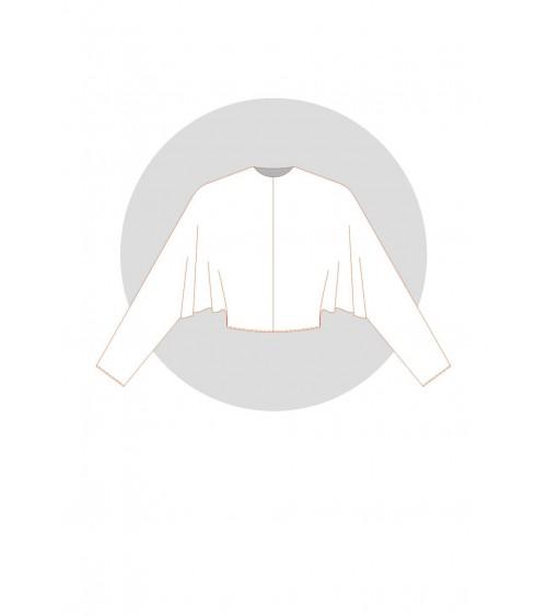 Kimono chauve-souris pince d'épaule