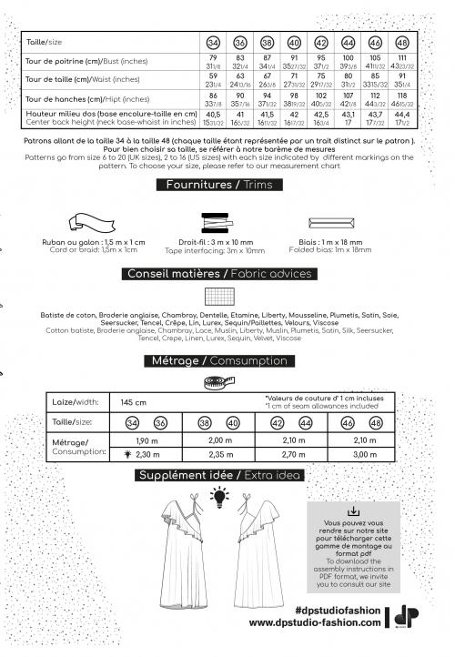 Le_5007 Top/robe à volant en asymétrie