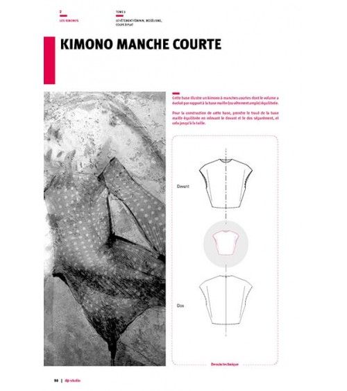 Kimono manche courte