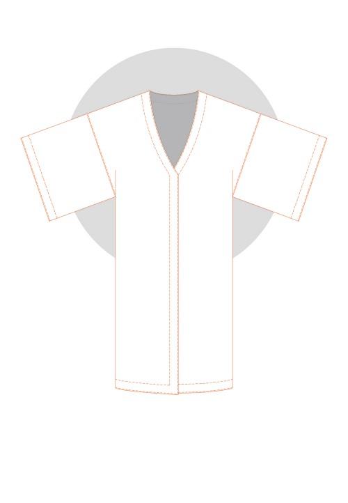 Kimono façon japonais