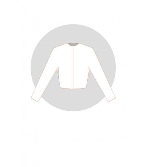 Kimono à soufflet incrusté (base maille ou vêtement ample)