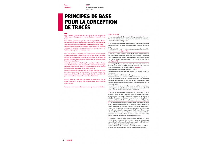 Basic principles for making a template